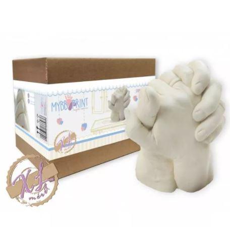 MybbPrint XL Felnőtt kézszobor készlet – akár 2 felnőtt kezéhez