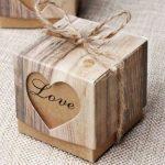 Szerelmes mini díszdoboz