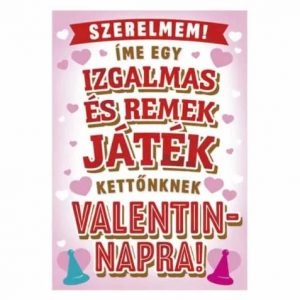 Valentin napi játék